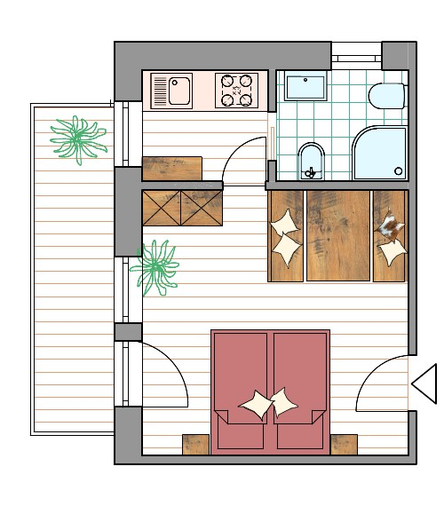 Room Plan Apartment Col
