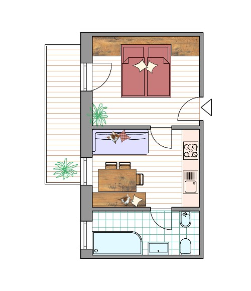 Room Plan Apartment Col Alt