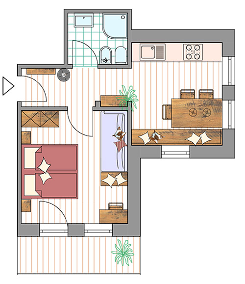 Room Plan Apartment Plan